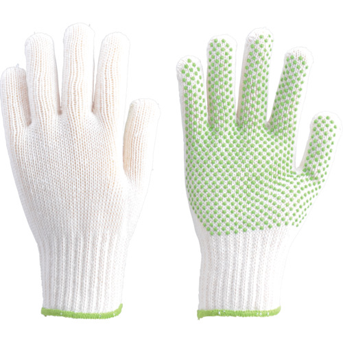 TRUSCO リサイクルすべり止め手袋 フリーサイズ_