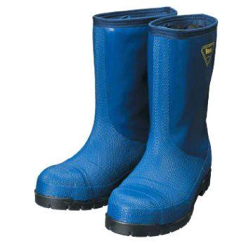 SHIBATA 冷蔵庫用長靴-40℃ NR021 ネイビー 各サイズ