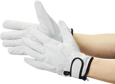 TRUSCO マジック式革手袋 裏地付タイプ Lサイズ_