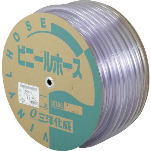 サンヨー 透明ホース18×21 50mドラム巻_