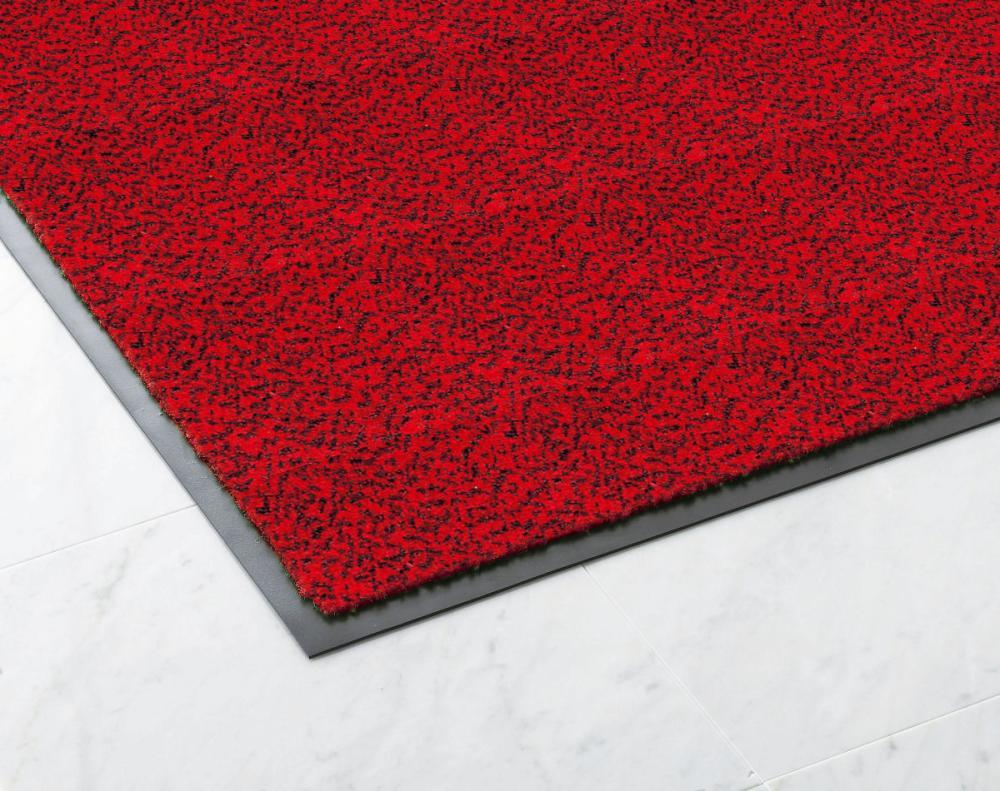 ロンステップマット(ランナー180cm幅)赤黒 ご注文可能サイズ 1m~10m(販売単位1m)