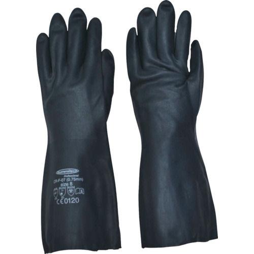サミテック 耐油・耐溶剤手袋 サミテックCR-F-07 ダークブルー 各サイズ