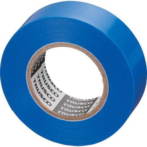 TRUSCO 脱鉛タイプビニールテープ 19mm×10m 10巻入り 各色