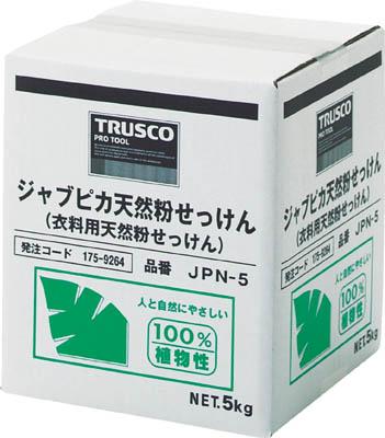 TRUSCO ジャプピカ天然粉せっけん 5kg_
