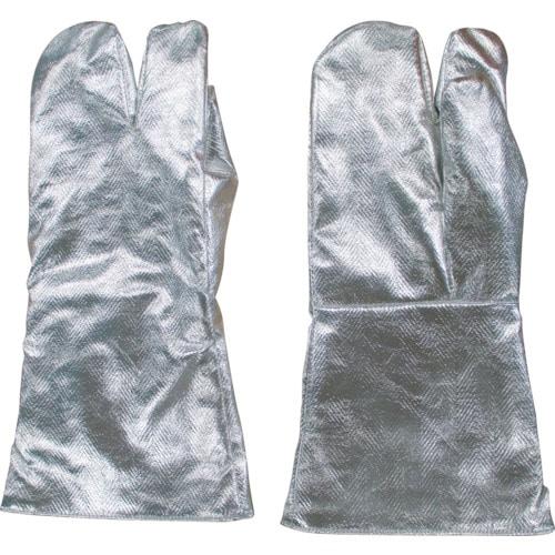 日本エンコン アルミ3指手袋(中綿入り)_