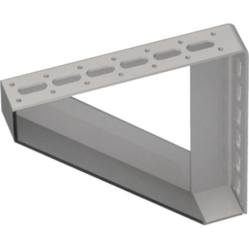 TRUSCO 配管支持用対面兼用三角ブラケット スチール 210X210_