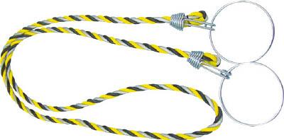 TRUSCO コーン用ロープ 反射標識 12mmX2m_