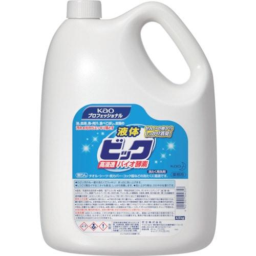 Kao 液体ビックバイオ酵素 業務用 4.5Kg_