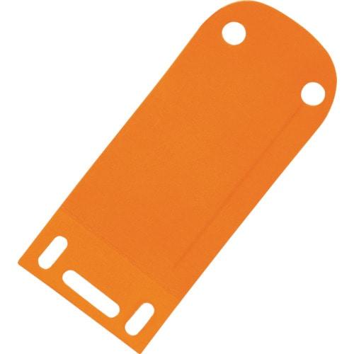 パンドウイット ラベルホルダー オレンジ (25個入)_