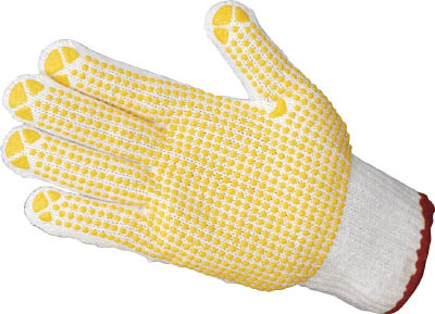 TRUSCO すべり止め手袋(片手) Mサイズ (50枚入) 各種