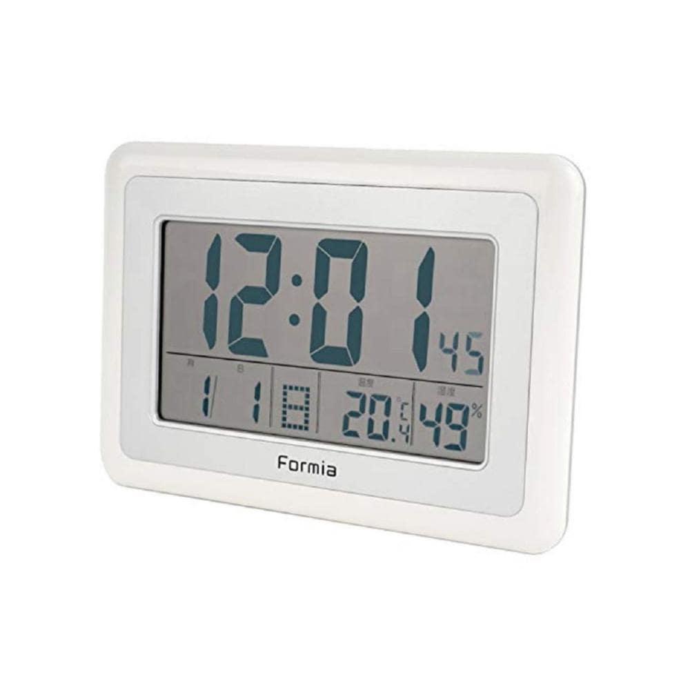 Formia 電波デジタル時計 ホワイト HT-003