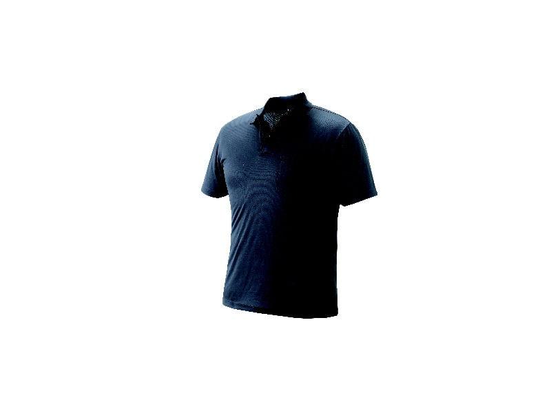 半袖ポロシャツ ブラック L