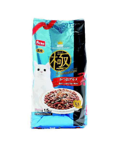 Petami 猫貴族 極プレミアム かつおグルメ 1.5kg
