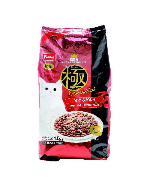 Pet ami 猫貴族 極プレミアム まぐろグルメ 1.5kg