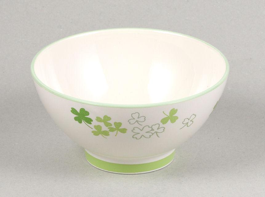 漆器 彩 クリーンコート茶碗 クローバーグリーン