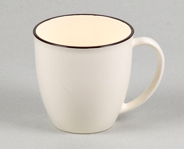 アテーナライフ 汚れ落ちの良いマグカップ 白