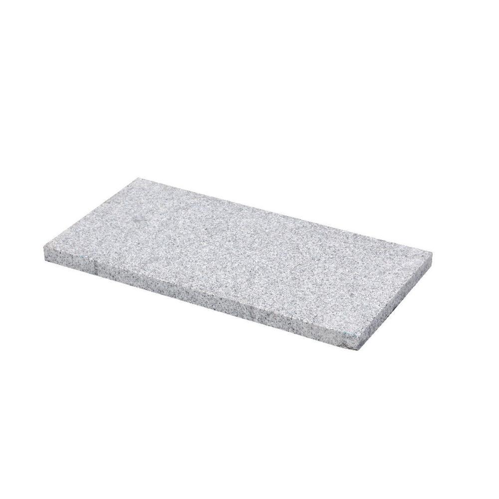 御影平板 バーナー仕上げ 白 60×30×3cm