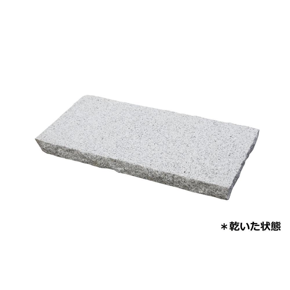 御影石 白 一面ビシャン 30×60×5cm