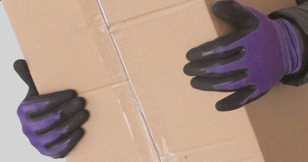 天然ゴム背抜き手袋 10枚組 各サイズ