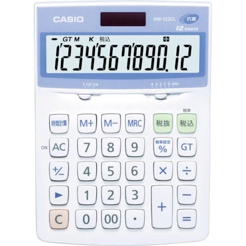 カシオ 電卓(抗菌、SIAA登録モデル)_