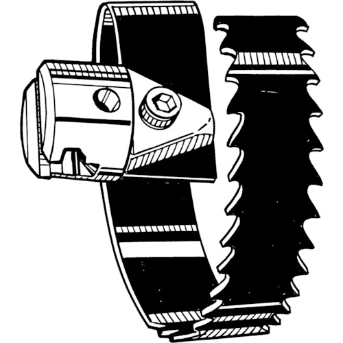 RIDGE スパイラル鋸刃カッタ(57mm) T‐_