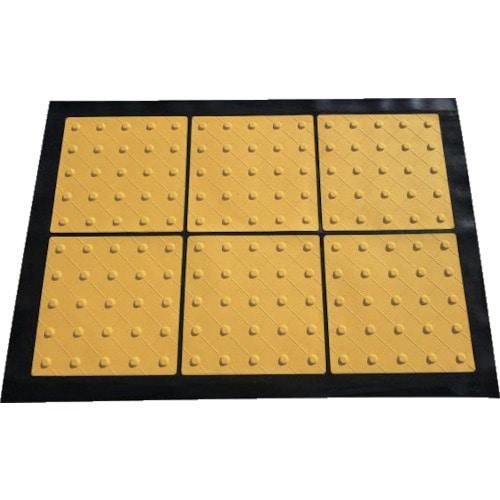 TRUSCO 折り畳み式点字マット 300角ポイン_