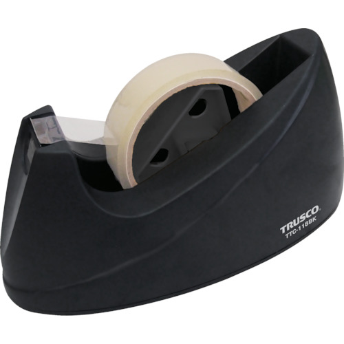 TRUSCO 両用テープカッター ブラック_