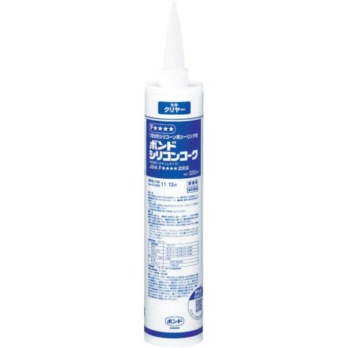 コニシ シリコンコーク防かび剤入 クリヤー 330_