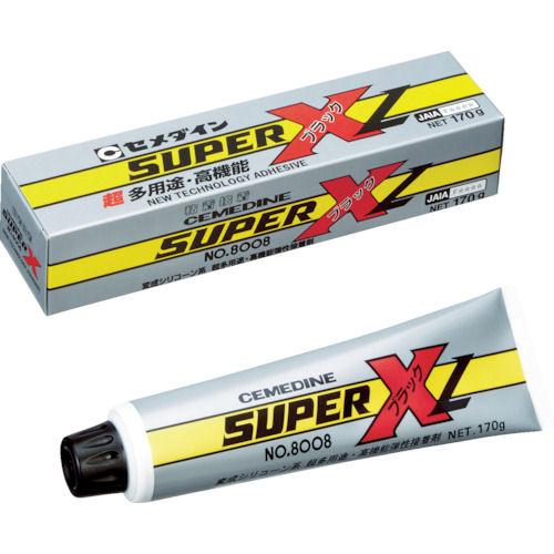 セメダイン スーパーX8008 ブラック 170g_