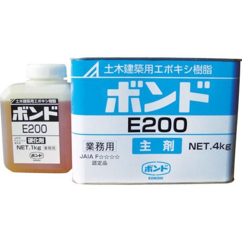 コニシ E200 エポキシ樹脂接着剤 5kgセット_