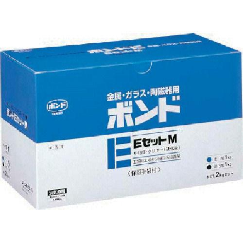 コニシ ボンドEセットM 2kgセット(箱)中粘度_