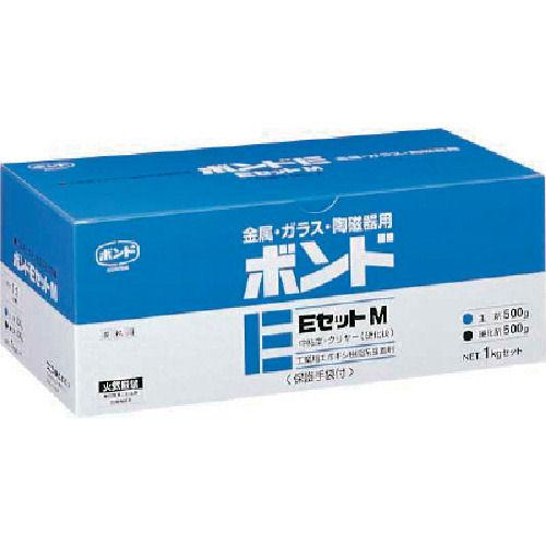 コニシ ボンドEセットM 1kgセット(箱)中粘度_