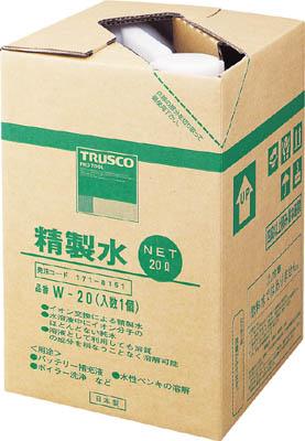 TRUSCO 精製水 20L (1個入)_
