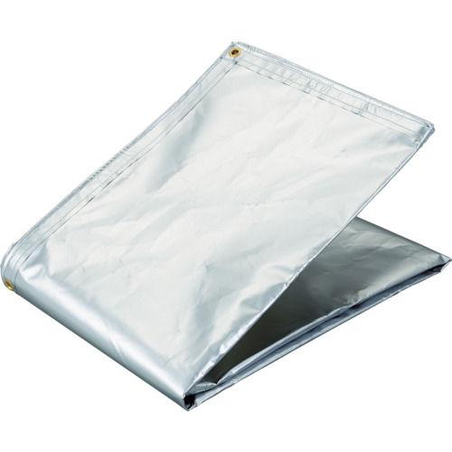 TRUSCO アルミ蒸着塩ビ遮熱シート 1.8×3_