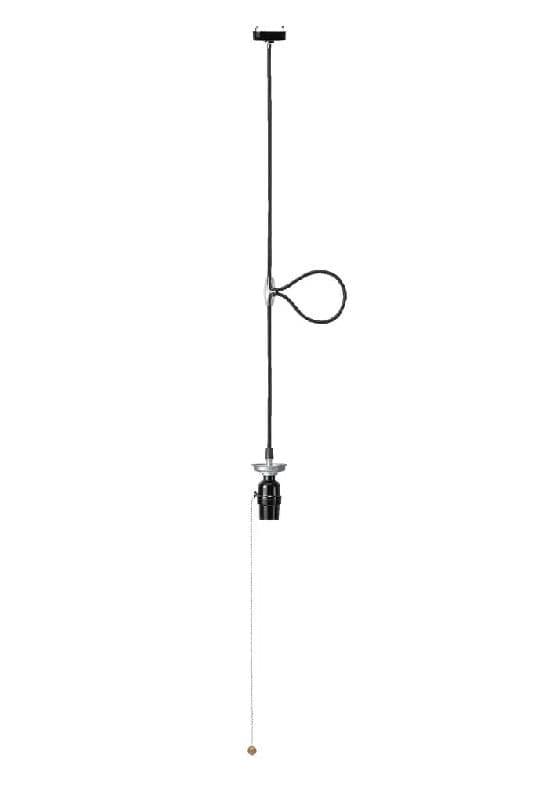 1灯用ソケット黒 ICLS1 BK