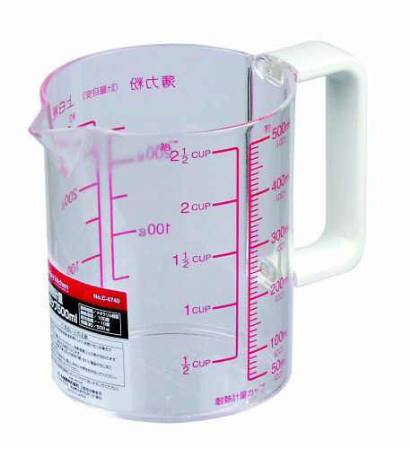 耐熱計量カップ 500ML C-4740