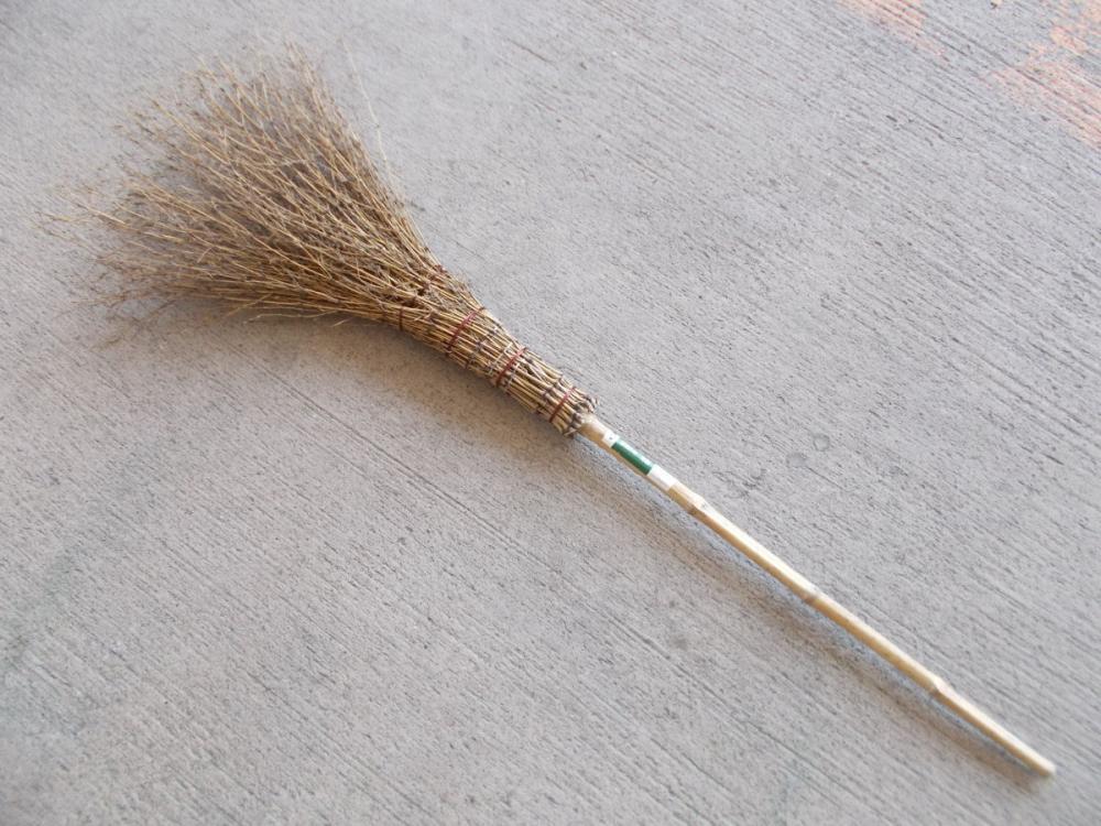 竹ホウキ 平型