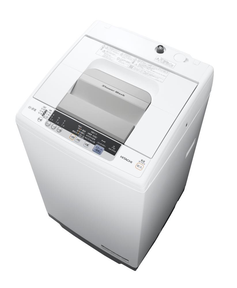 日立 全自動洗濯機 7.0kg ホワイト NW-R704W