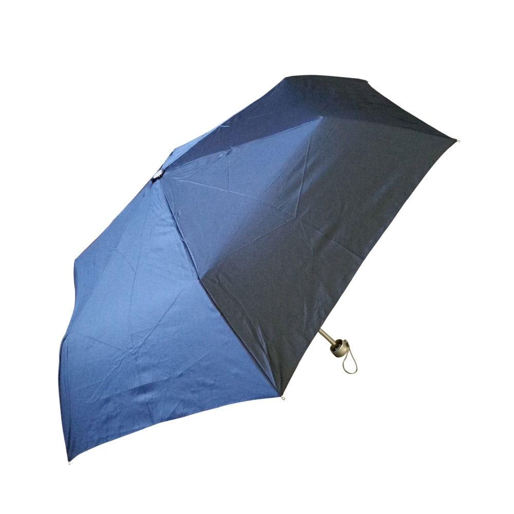 55cmコンパクトミニ傘 無地 紺