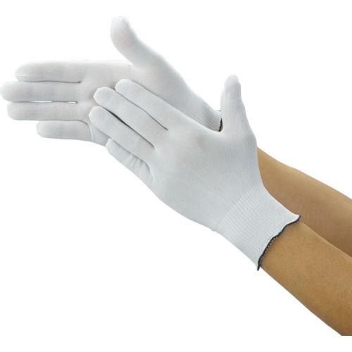 TRUSCO クリーンルーム用インナー手袋 Lサイ_
