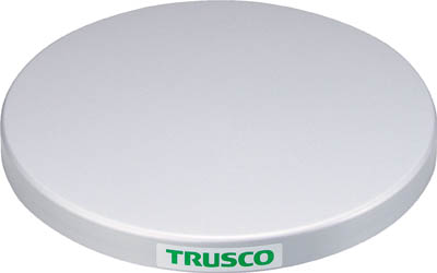 TRUSCO 回転台 100Kg型 400 スチ_