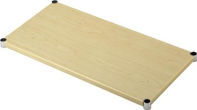TRUSCO スチール製メッシュラック用木製棚板 _