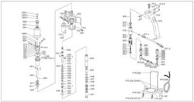 TRUSCO FTR65G用 スプリング_
