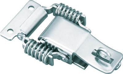 TRUSCO パッチン錠 鍵穴付バネタイプ 2個入_