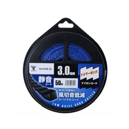 YAMAZEN(ヤマゼン)ナイロンコード 静音コード 風切音低減 3mm×50m SU30TB-50