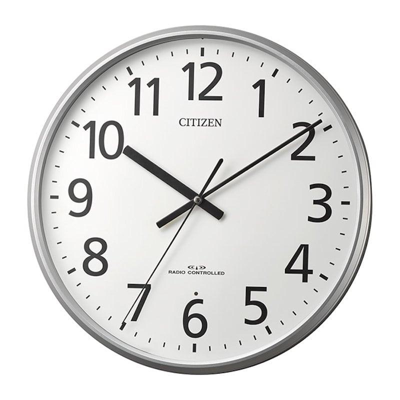 リズム時計 シチズン 電波掛け時計 8MYA39-019