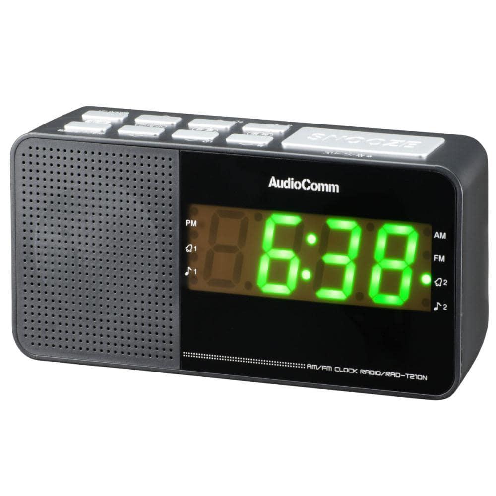 デジタル選曲クロック付ラジオ T210N