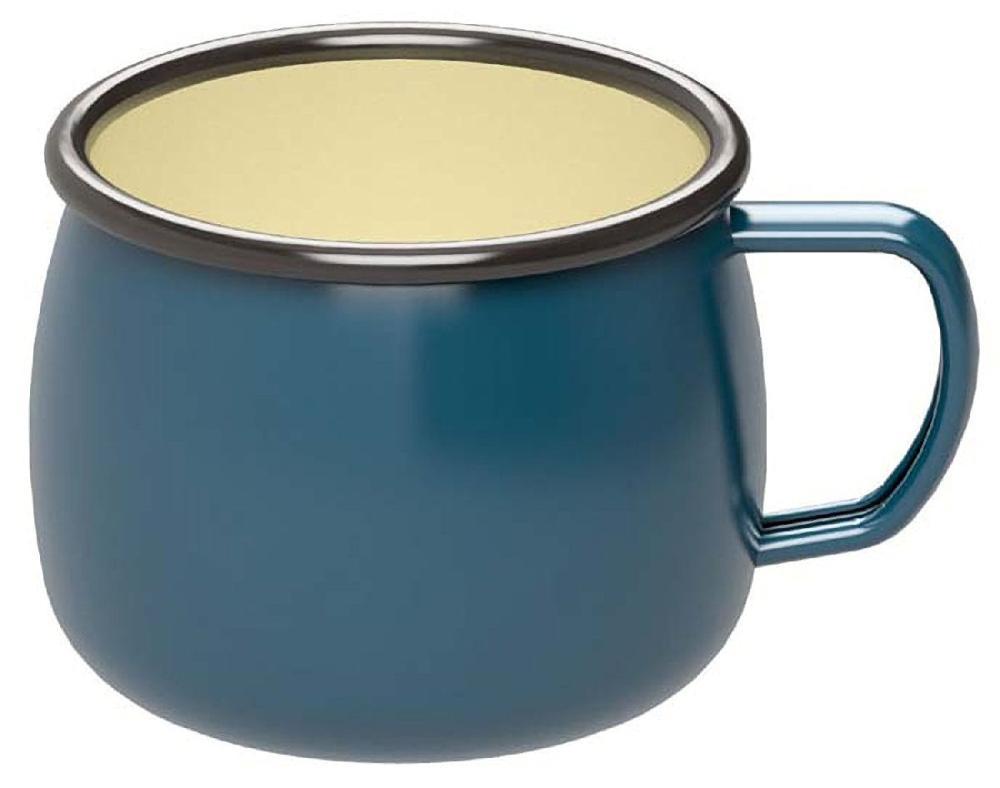 キャプテンスタッグ ホーローマグカップ ブルー