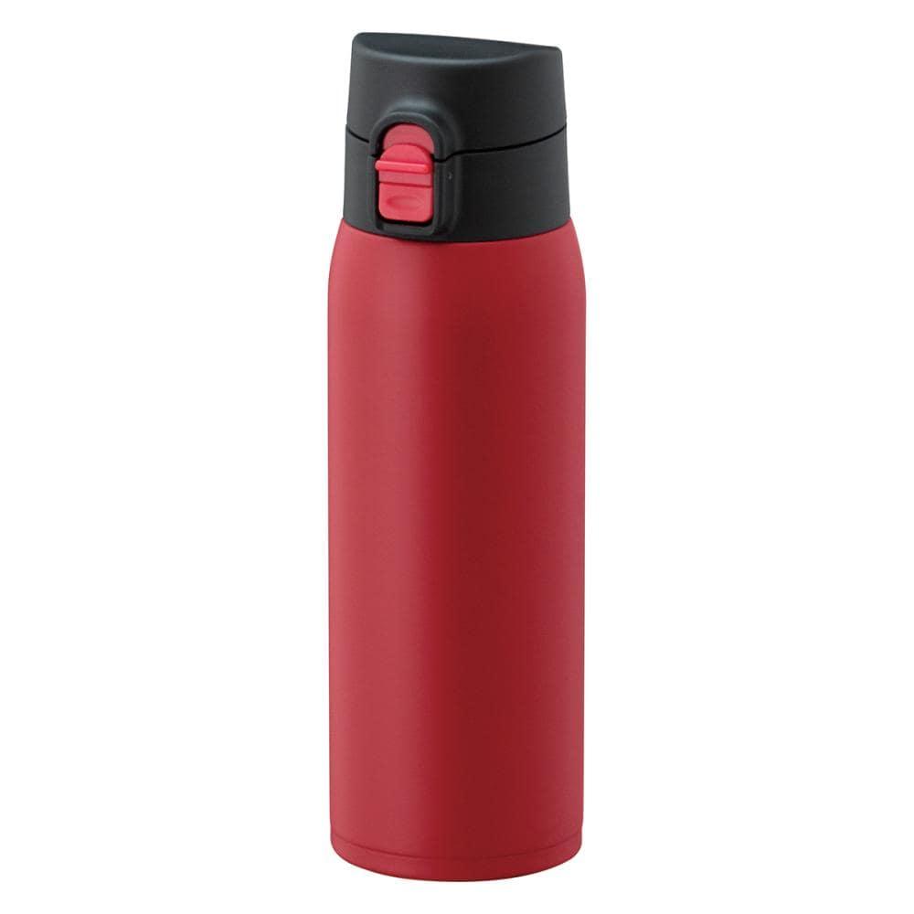 ワンタッチマグボトル軽量 モデルKIW-500 レッド