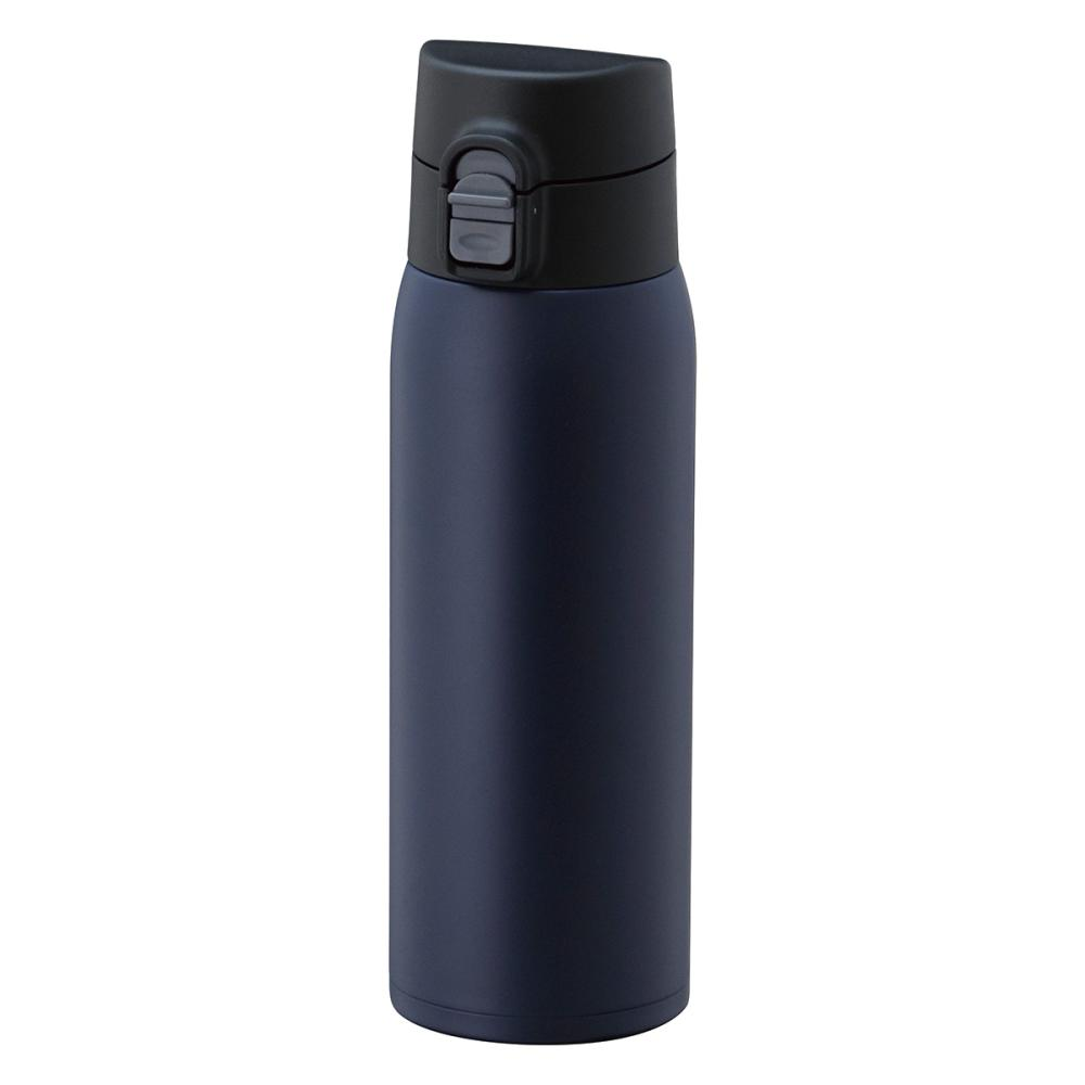 ワンタッチマグボトル軽量 モデルKIW-500 ネイビー